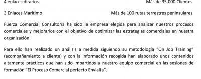 Jordi Forn, Responsable Desarrollo de Negocio Noreste de Envialia