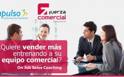 On Job Sales Coaching. ¿Quiere vender más?