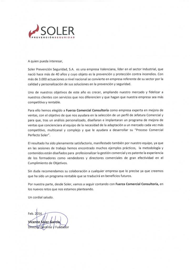 Vicente Soler, Director General Soler Prevención y Seguridad